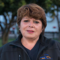 Rosa Arredondo - Responsible for cleaning and equipment of the campers.