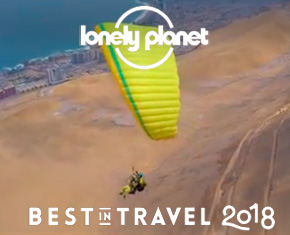 "Lonely Planet gibt Chile den 1. Platz in seiner Rangliste ""Best in Travel 2018"""