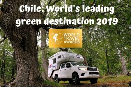 "Chile wins the prize ""Best Green Destination in the World"""